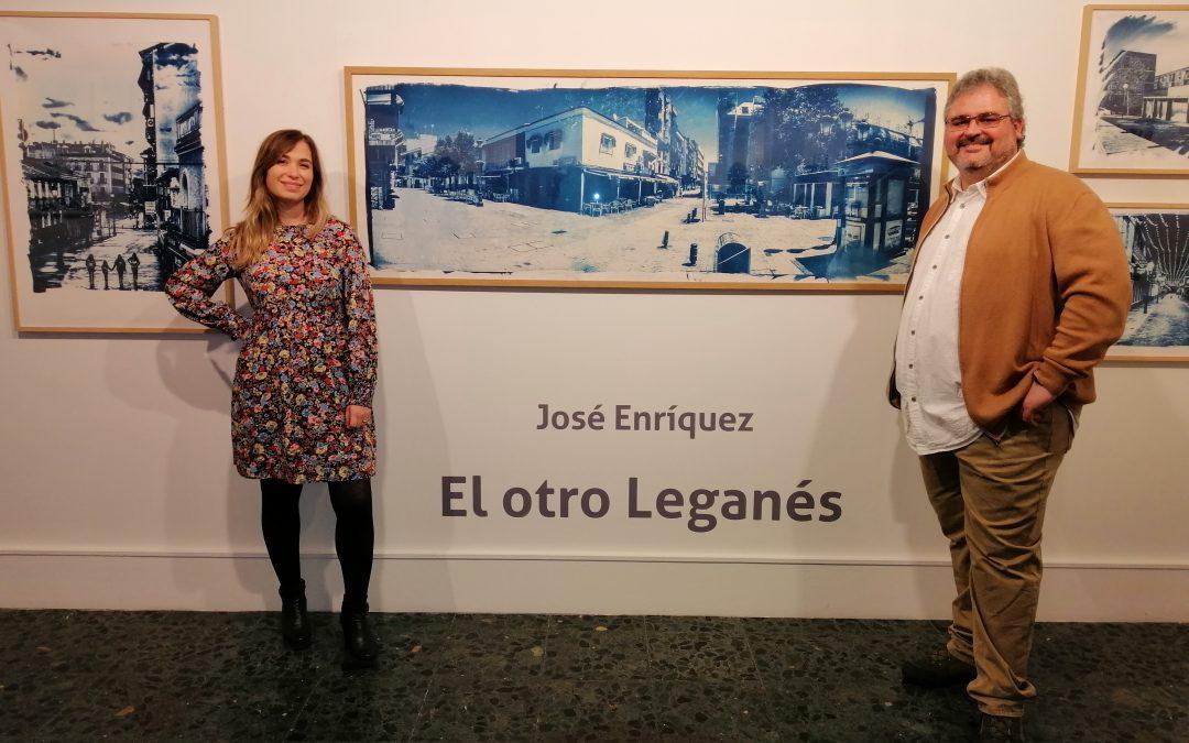"""Despertares con el arte, """"El otro Leganés"""", exposición de Cianotipias"""